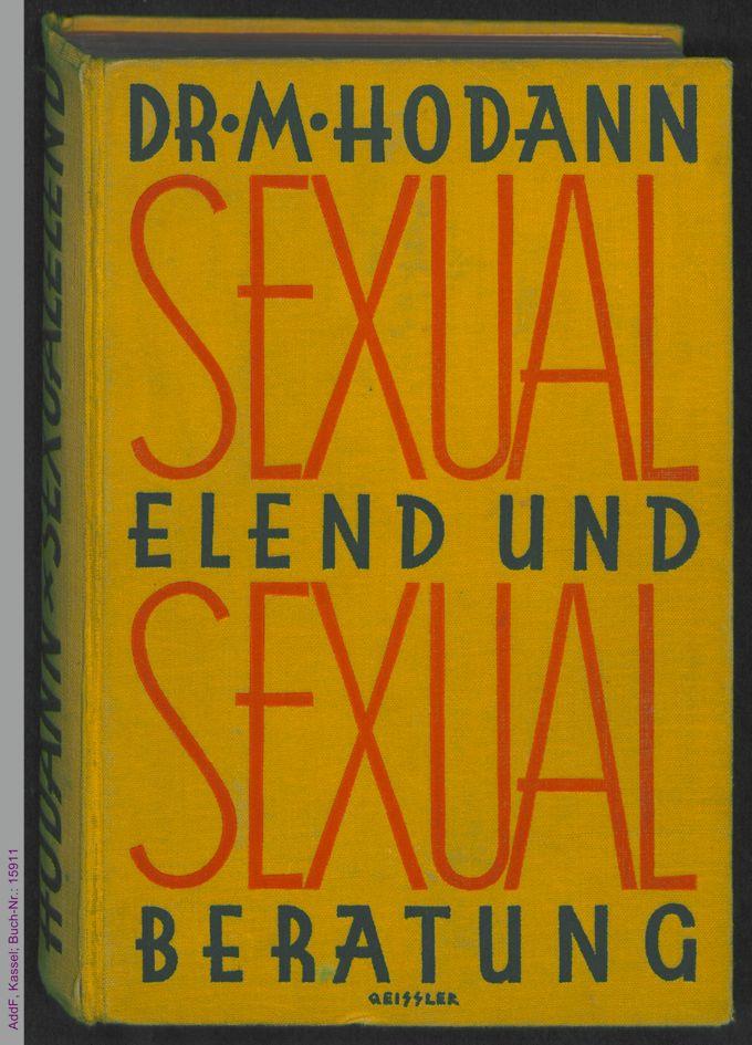 Sexualelend und Sexualberatung : Briefe aus der Praxis / Seite 1