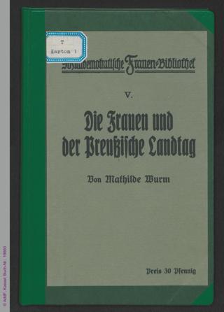 Die Frauen und der Preußische Landtag