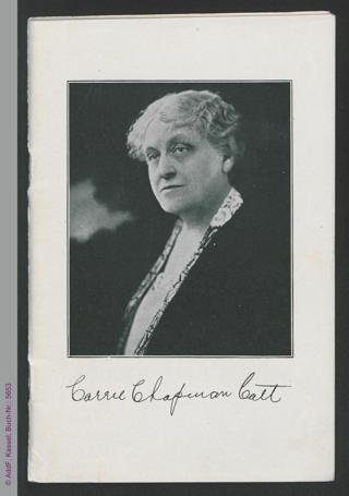 Fünfundzwanzig Jahre Weltbund für Frauenstimmrecht 1904 bis 1929