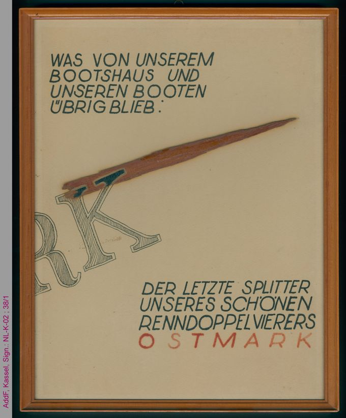 Splitter des Renndoppelvierers Ostmark / Seite 1