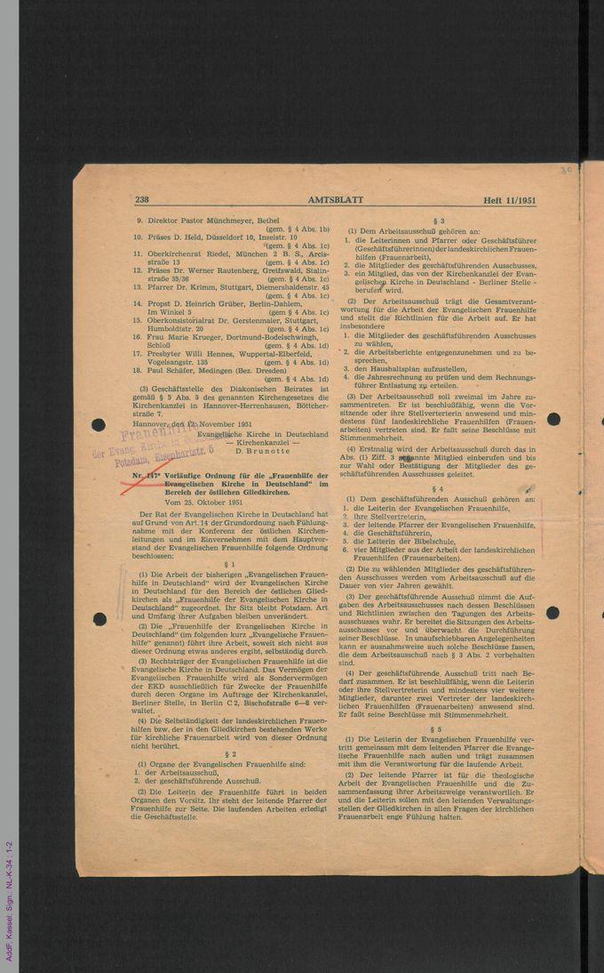 Satzungen, Vereinsregister / Seite 33
