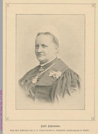 Porträt von Luise Fuhrmann