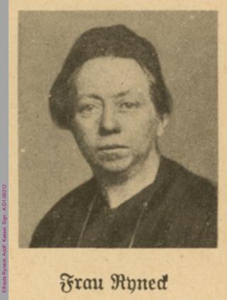 Porträt von Elfriede Ryneck