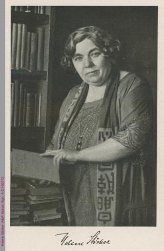 Porträt von Helene Stöcker