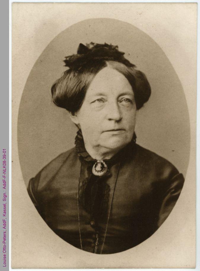 Porträt von Louise Otto-Peters