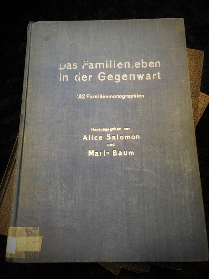 Akademie für soziale und pädagogische Frauenarbeit - Veröffentlichung- Familienleben in der Gegenwart
