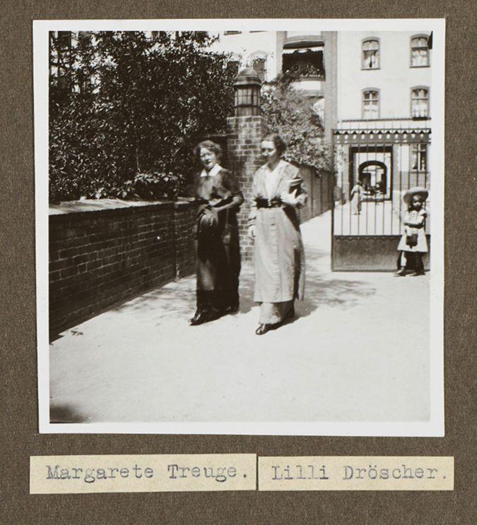 Dozentinnen der Sozialen Frauenschule - Margarete Treuge und Lilli Dröscher
