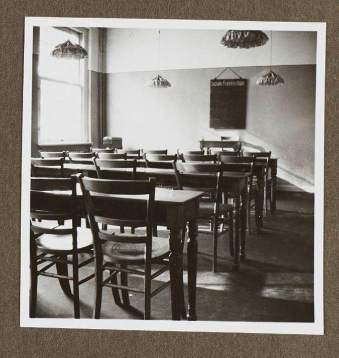 Klassenzimmer der Sozialen Frauenschule