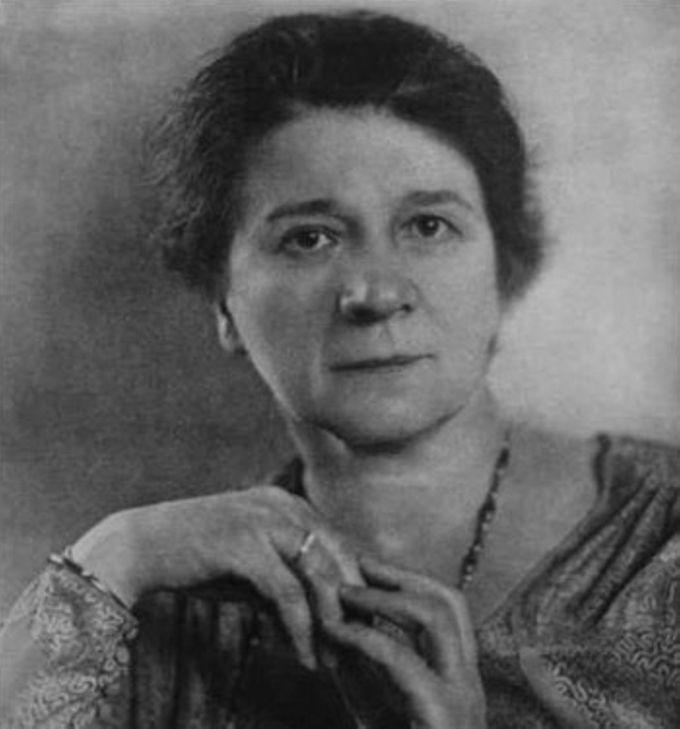 Gertrud Bäumer; Portrait