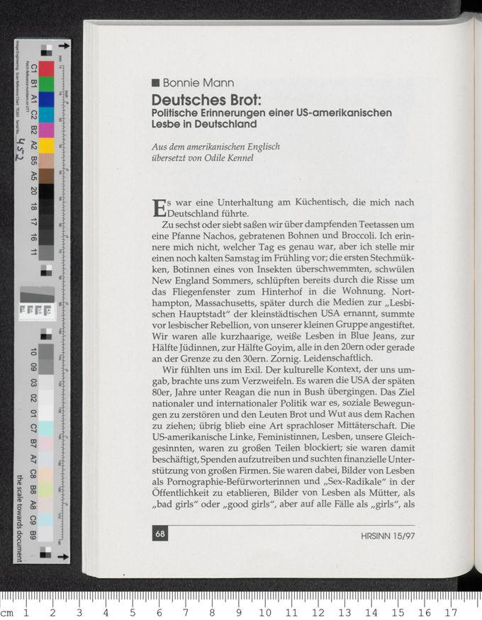 Deutsches Brot / Seite 1