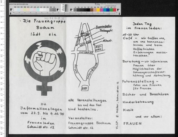 Informationstage im Frauenladen Bochum / Seite 1