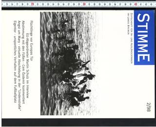 Stimme : Zeitschrift für In- und AusländerInnen im Lande Bremen