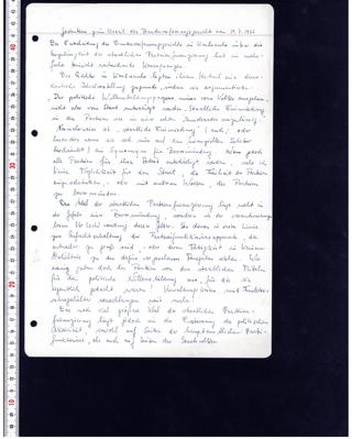 Gedanken zum Urteil des Bundesverfassungsgerichts vom 19.07.1966
