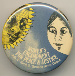 Women's encampment for peace & justice<p>Anti -Pershing-Demonstration