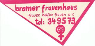 Eigenwerbung des Frauenhauses Bremen