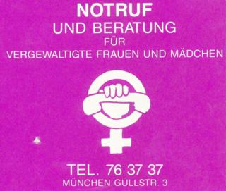 Eigenwerbung der Notrufgruppe München