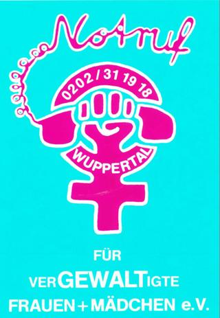 Eigenwerbung der Notrufgruppe Wuppertal