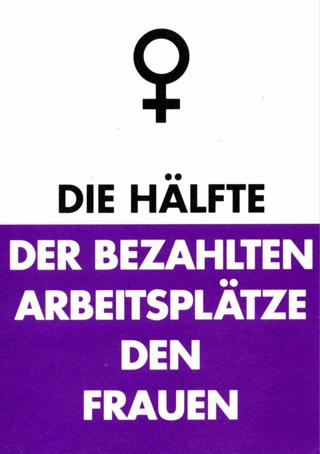 Kampagne für Gleichstellung