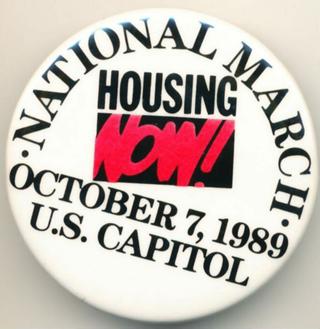 Protestmarsch in Washington zum Capitol gegen Wohnungsnot und Sozialpolitik