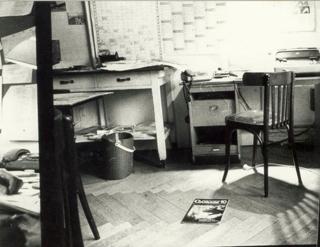 Redaktionsraum der Frauenzeitung Courage
