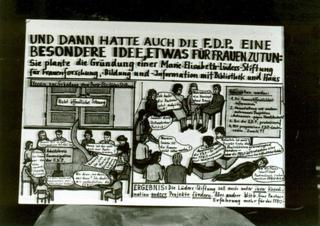 Comic zu den Anfängen der FFBIZ-Geschichte