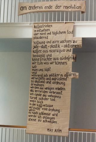 Gedicht von May Ayim