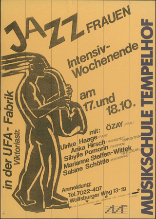 Jazz - Intensiv-Wochenende für Frauen in der Musikschule Tempelhof