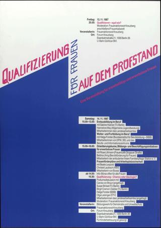 Qualifizierung für Frauen auf dem Prüfstand