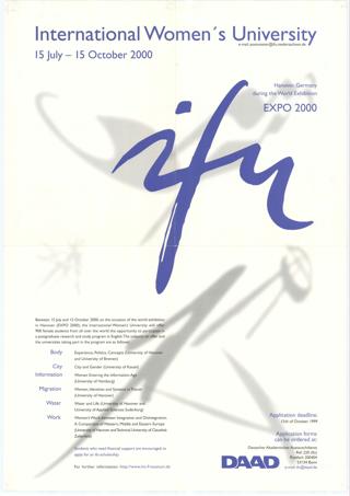 International Women's University ifu Hannover, Gemany during the World Exhibition Expo 2000