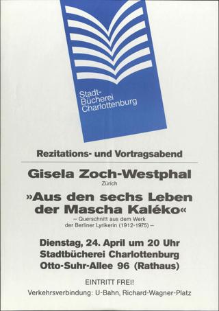 """""""Aus den sechs Leben der Mascha Koleko"""""""