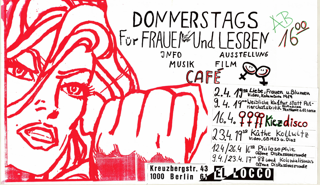 Donnerstags für Frauen und Lesben