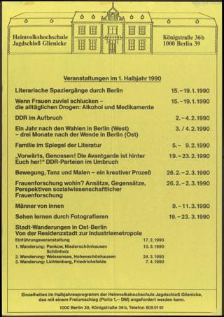 Heimvolkshochschule Jagdschloß Glienicke