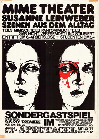Mime Theater Susanne Leinweber: Szenen aus dem Alltag