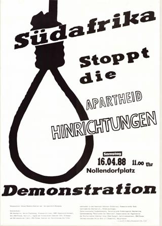 Stoppt die Apartheid-Hinrichtungen