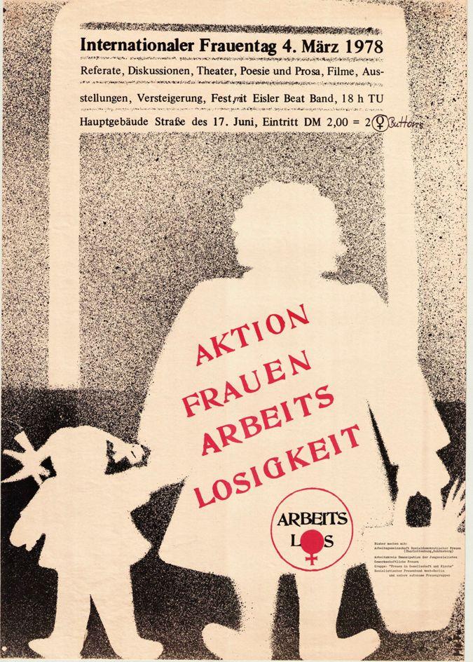 """""""Aktion Frauenarbeitslosigkeit"""""""