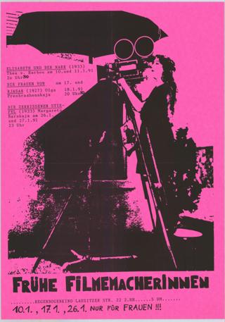 Frühe Filmemacherinnen