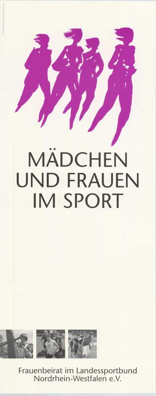 Mädchen und Frauen im Sport