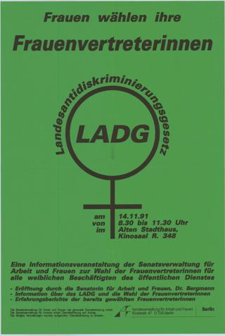 LADG Landesantidiskriminierungsgesetz