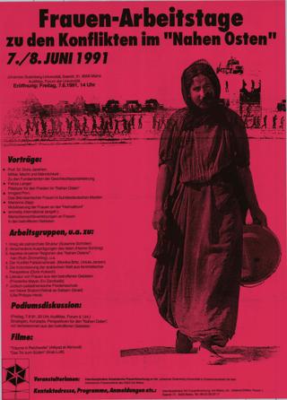 """Frauen-Arbeitstage zu den Konflikten im """"Nahen Osten"""""""