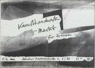 Kunsthandwerk - Markt für Frauen