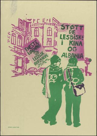 Stött de Lesbike i kina og albania Eneste Lösning lesbik ökofeminisme