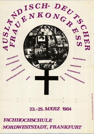 Ausländisch-deutscher Frauenkongress in der Fachhochschule für Sozialpädagogik, -arbeit, Ffm-Nordweststadt