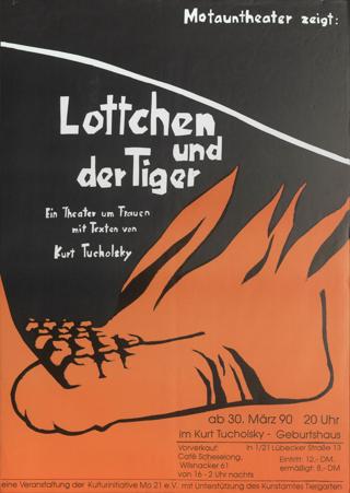 Lottchen und der Tiger Theater um Frauen mit Texten von Kurt Tucholsky