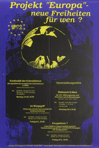 """Projekt """"Europa"""" - Neue Freiheiten für wen?"""