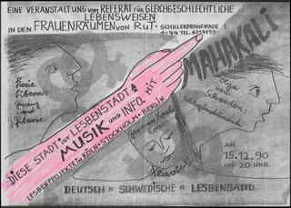 Diese Stadt ist Lesbenstadt ! Lesbenprojekte in Köln - Stockholm - Berlin