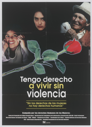 Tango derecho a vivir sin violencia