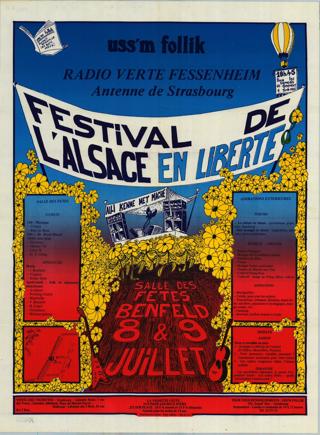 Festival de l'Alsace en Liberte
