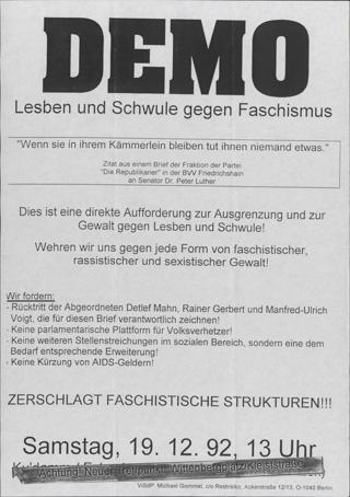 Lesben und Schwule gegen Faschismus