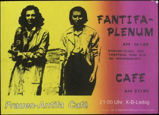 FANTIFA Plenum