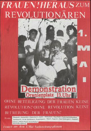 Frauen! Heraus zum Revolutionären 1. Mai